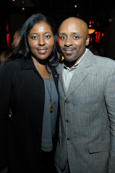 Ronda Penrice and Lakeem Dwight attends the Frank Ski's Celebrity Wine Tasting and Auction