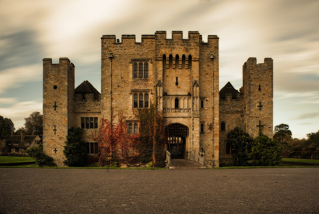 The ghost of Hever Castle