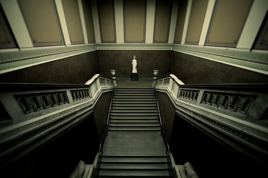 Secluded Staircase