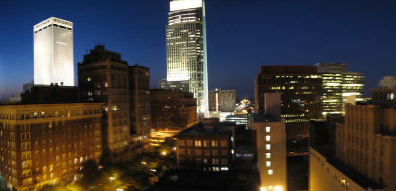 Night Time Panorama