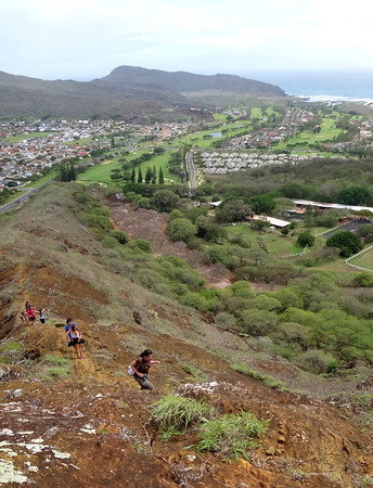 Around the Rim Hike - Koko Head Crater