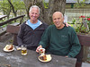 Bill and Stane after paraglider flights in Slovenia