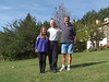 Ruth, Bill and Ulric in St-Auban, France
