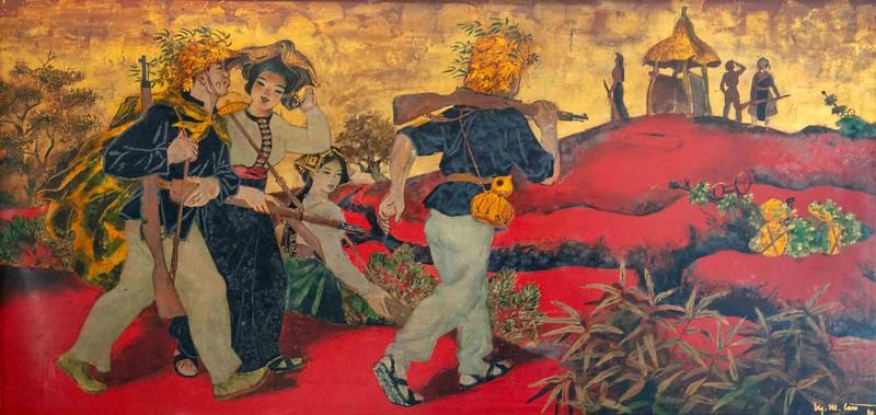 War as a Theme in Saigon Fine Arts Museum
