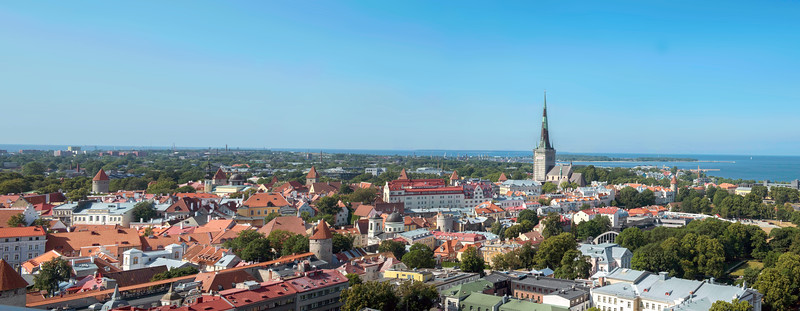Panorama, Tallinn, Estonia.