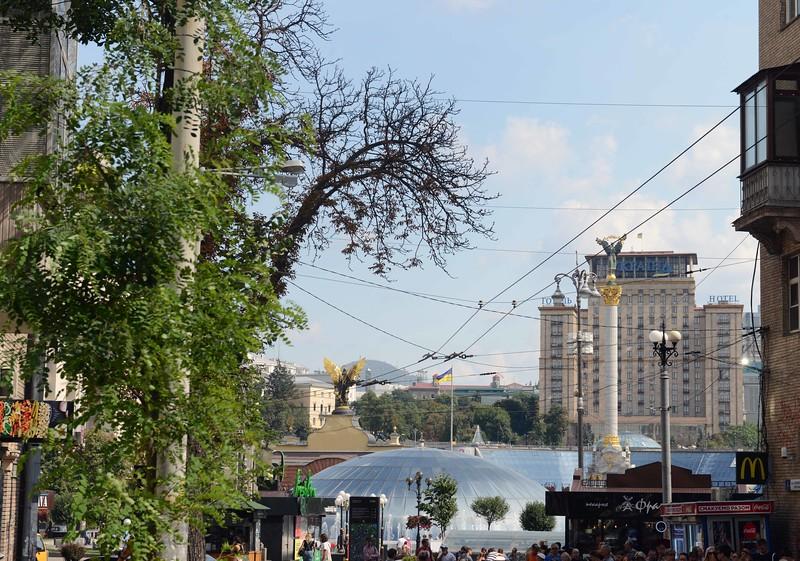 Maidan Square, Kyiv, Ukraine.