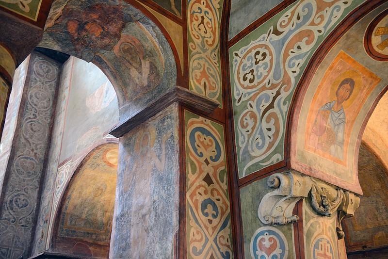 St. Sophia's Church detail, Kyiv, Ukraine.