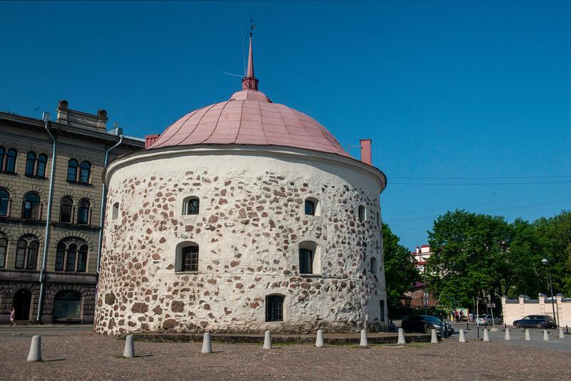 The Round Tower, Vyborg, Russia.