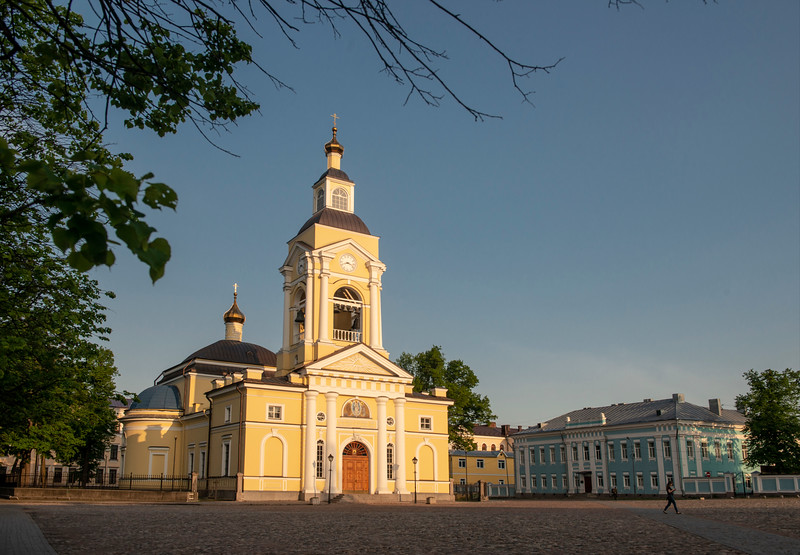 Transfiguration Cathedral, Vyborg, Russia.