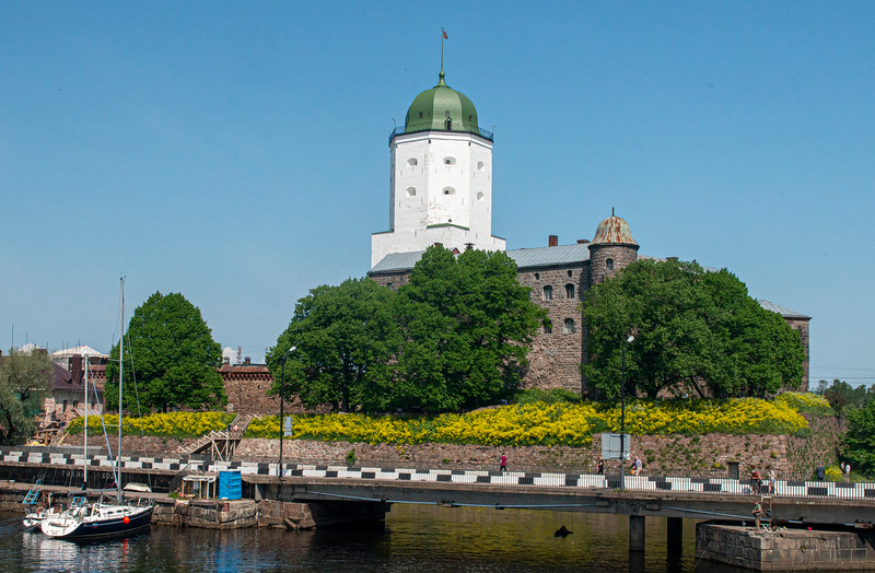 The Old Tower, Vyborg, Russia.