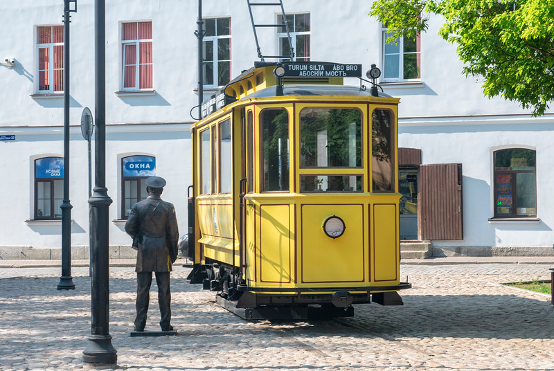 Trolley Café, Vyborg, Russia.
