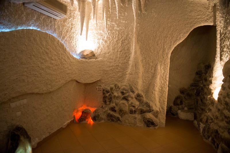 Межигір'я, former President Viktor Yanukovich's residence outside Kyiv, Ukraine. The salt cave.
