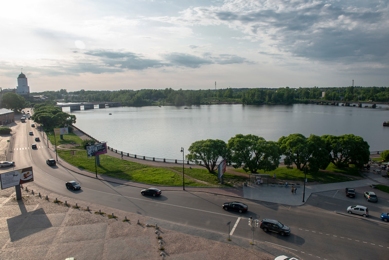 The Esplanade, Vyborg, Russia.
