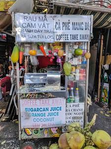 What would you like? Saigon, Vietnam.