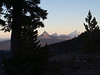 sunrise on Mt. Washington, Three Fingered Jack and Mt. Jefferson