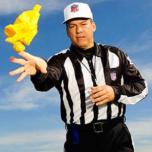 NFL referee Alberto Riveron<br /> portrait<br /> Miami, FL<br /> 06-NOV-2008<br /> X81412 TK1<br /> CREDIT: Bill Frakes