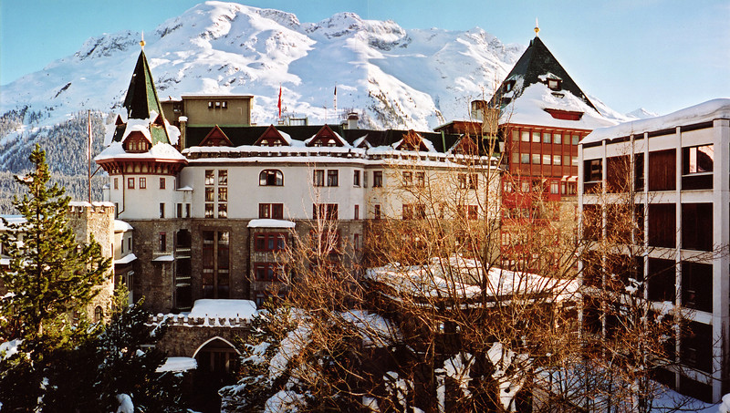 The Palace Hotel, St. Moritz.