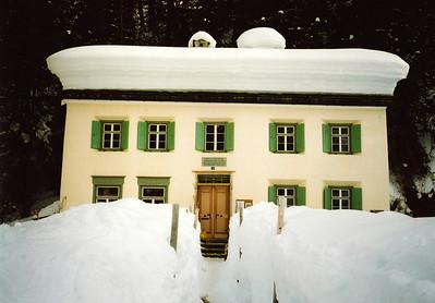 Nietzsche Haus, Sils Maria, Switzerland.