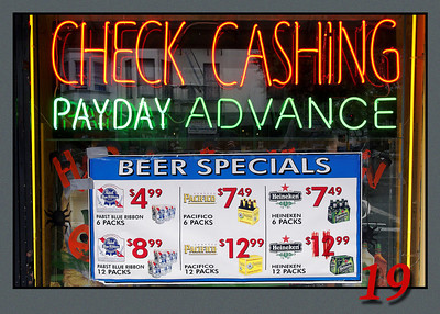Cash Check Buy Beer
