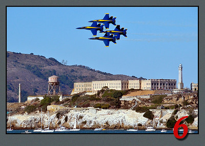 Angels Over Alcatraz
