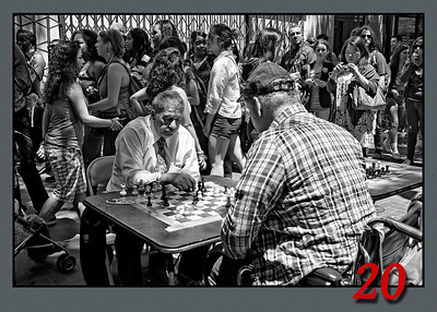 Chess on Market st