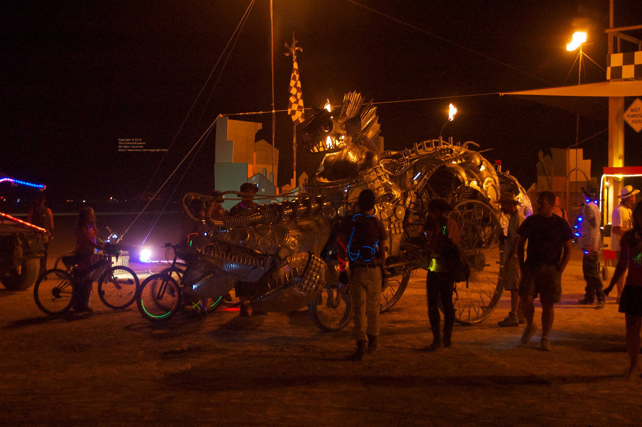 The Kinetic Cab Company, by Kinectic Artists Kollective, Kill Devil Hills, NC.