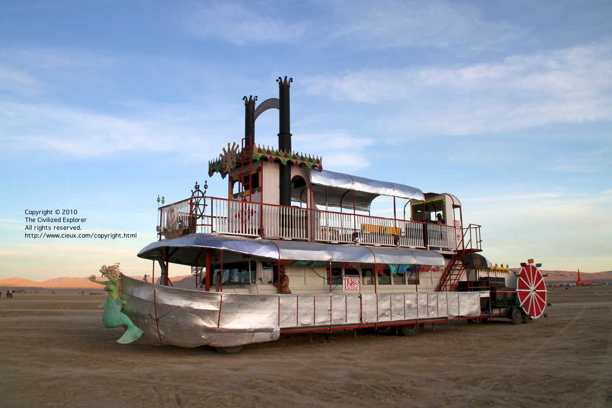 Another art car ship.