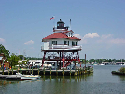 Drum Point Lighthouse - Solomons Island Maryland