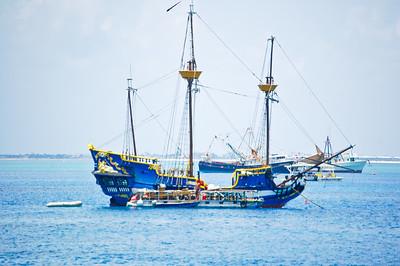 Blue Brigantine