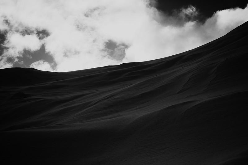 """Sandy Snow""<br /> Juneau, Alaska"