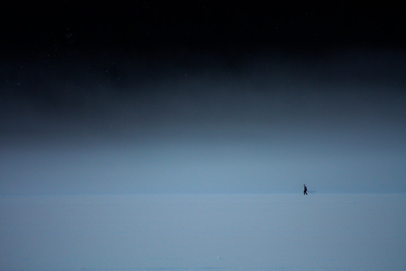 """Blue Solitude""<br /> This photo was selected in the""Alaska Positive"" photography contest held every two years. It was shown at the Alaska State Museum in Juneau from May 2010-October 2010 and around the state from 2011-2012. <br /> Juneau, Alaska"
