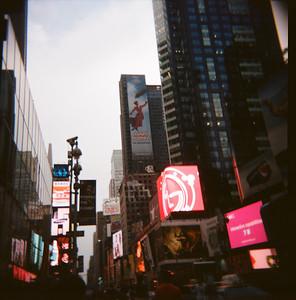 Times Square (Holga, 2011)