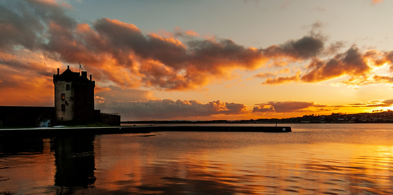 Broughty Ferry Castle - Winter Sunset