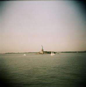 Liberty Island (Holga, 2011)