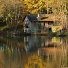 Boathouse in Autumn