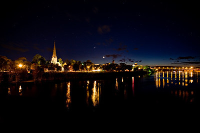 Fredericton at Night