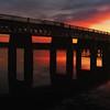 Tay Rail Bridge from Dundee