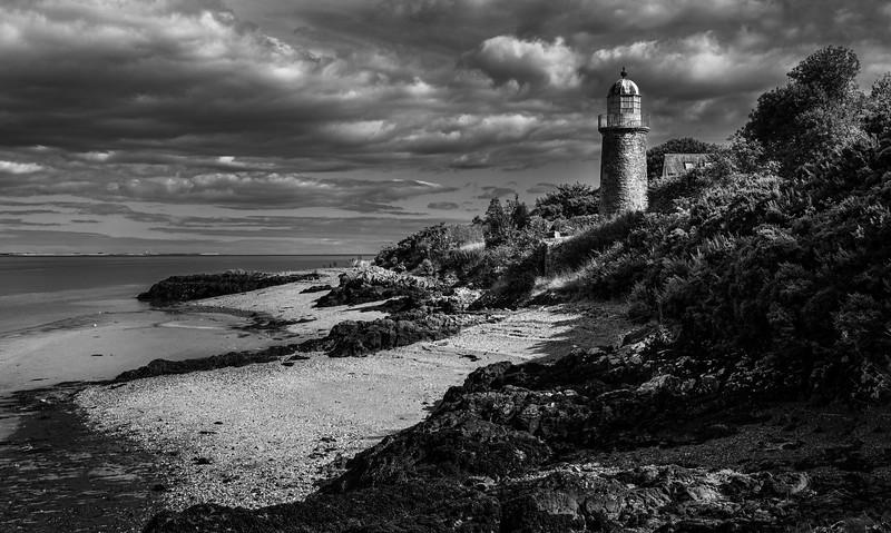 Old Lighthouse Black & White