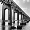 Tay Rail Bridge from Wormit