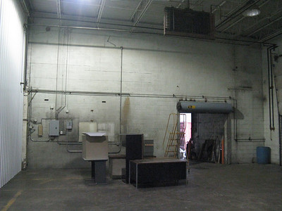 Retail space, right wall