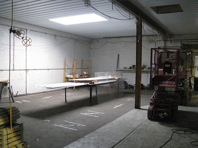 Member's space, view from entrance