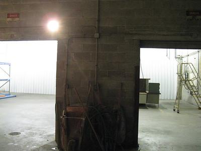 Doorways from greeter area -> retail space.  Right door will generally be closed, left door will be glass