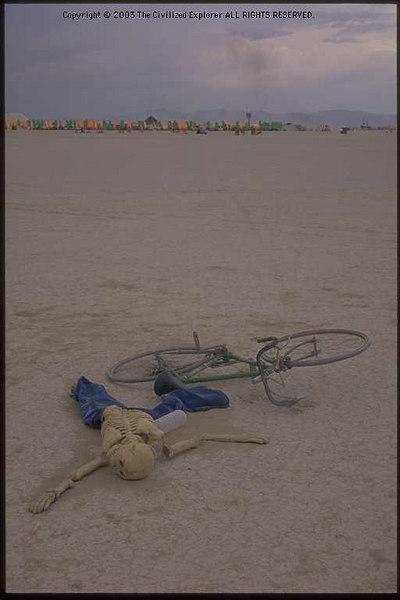 Lost bikers of Lake Lahontan