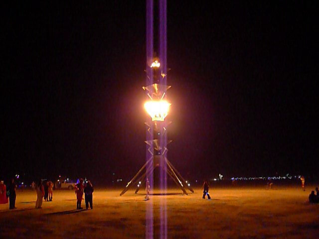 Spire of Fire, by Steve Atkins and Eric Smith, Reno, NV