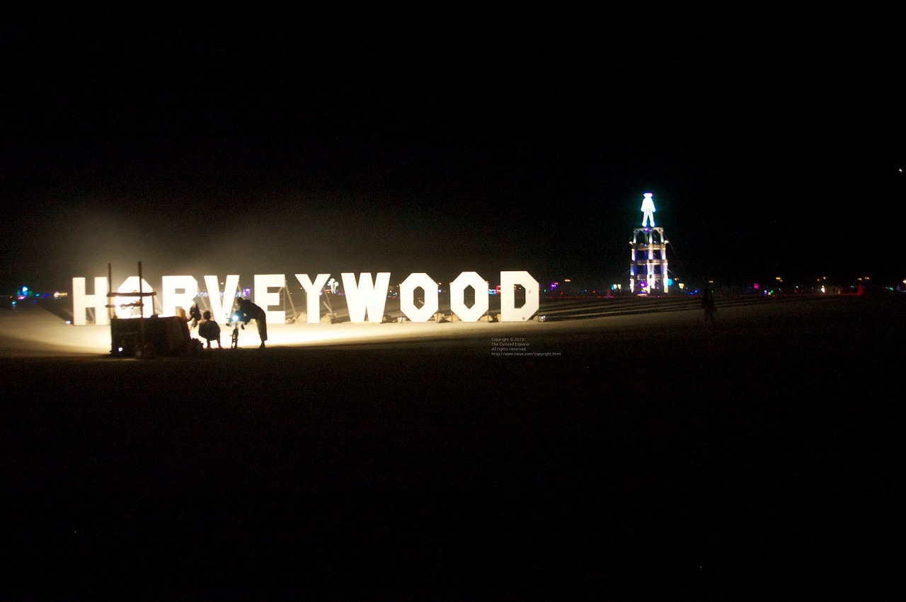 """This is Harveywood, by Steven Clark - <a href=""""http://www.salamandersociety.com/harveywood/"""">http://www.salamandersociety.com/harveywood/</a><br /> <br /> Follow the link to read the interesting story of all the pranks played with this sign"""