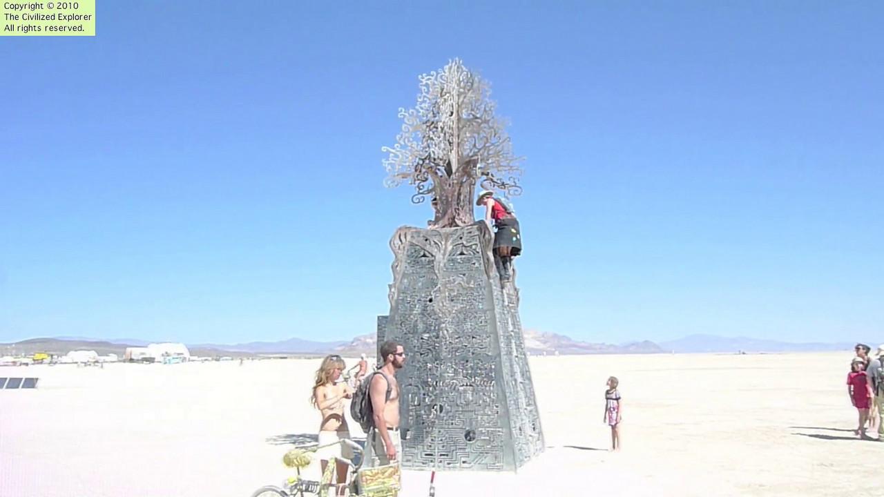 "Louise climbs Future's Past, by Kate Raudenbush - <a href=""http://www.kateraudenbush.com"">http://www.kateraudenbush.com</a>"