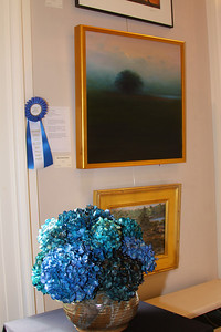 "Art In Bloom  Beverly George Plymouth Garden Club Art Work  ""Charco"" Artist Marlee Brewster Brockman"