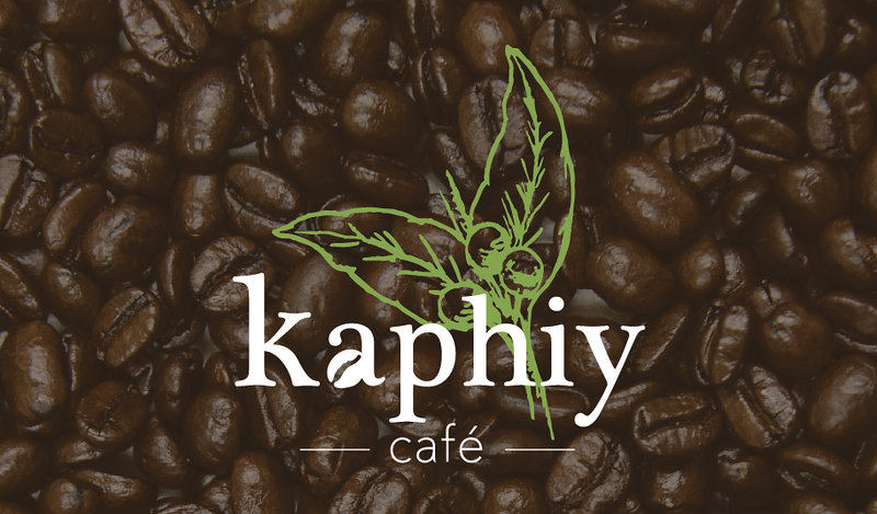 Logo concept for a small South American coffee shop