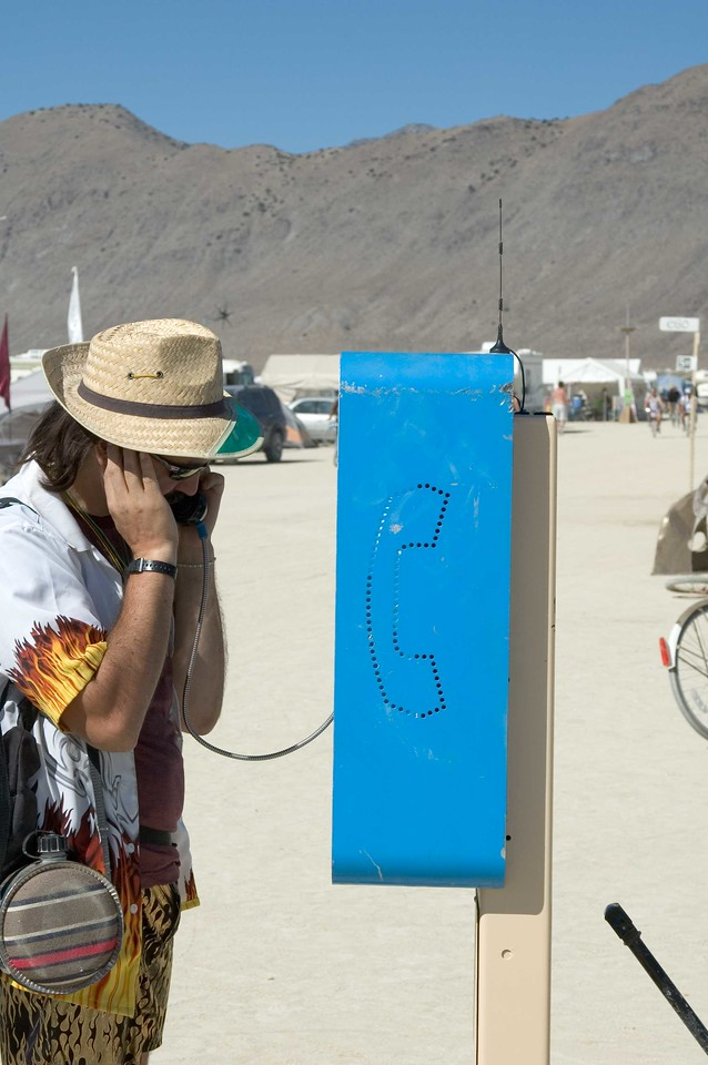 Playa Bell. The working playa phone was also by Brad Templeton.
