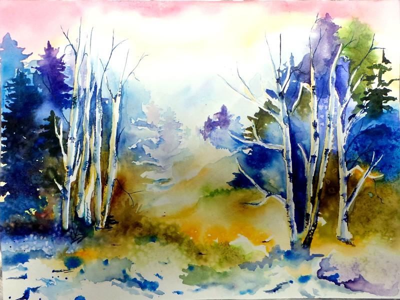 Cameron Shceele, Watercolor, 2014